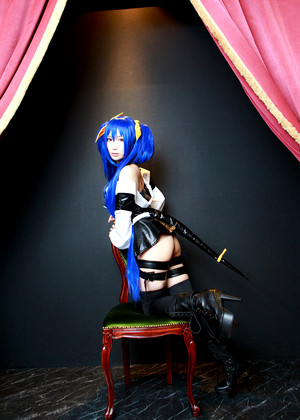 Japanese Cosplay Lechat Squirts Motorcycle Video