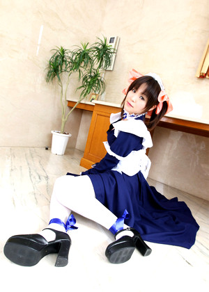 Japanese Cosplay Maid Saching Girl Photos