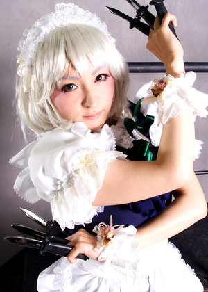 Japanese Cosplay Shien Brazzer Lounge Photos