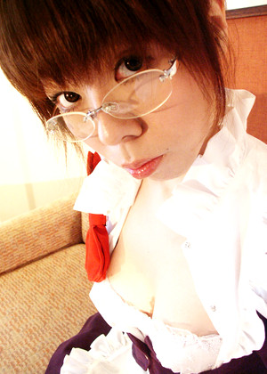 Japanese Cosplay Wotome Cleavage Titzz Oiled
