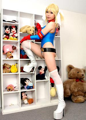 Japanese Rin Higurashi Latex Silk Bikini jpg 11