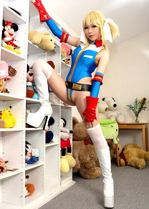 Japanese Rin Higurashi Latex Silk Bikini jpg 12