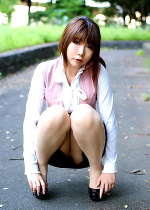 Japanese Rin Higurashi Galeria Cross Legged jpg 10