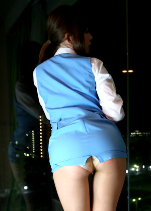 Japanese Rin Higurashi Latest Tight Pants jpg 2
