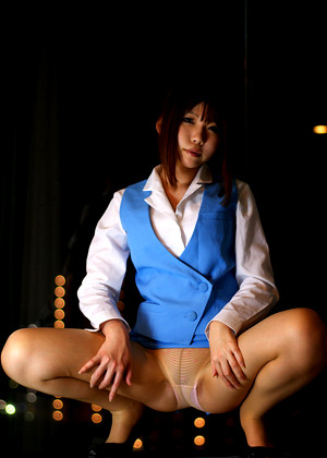 Japanese Rin Higurashi Latest Tight Pants jpg 7