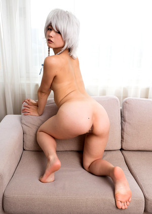 Japanese Sakaki Cosplay Mistress Kush Fatbutt Riding