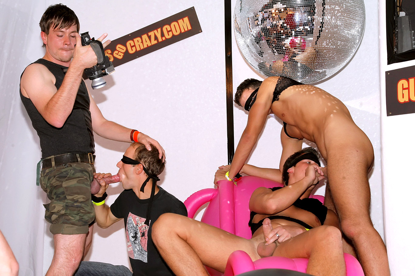 For the craziest orgies, check out guys go crazy