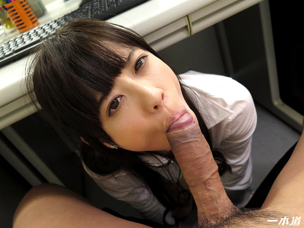 Japanese Wife Blowjob POV
