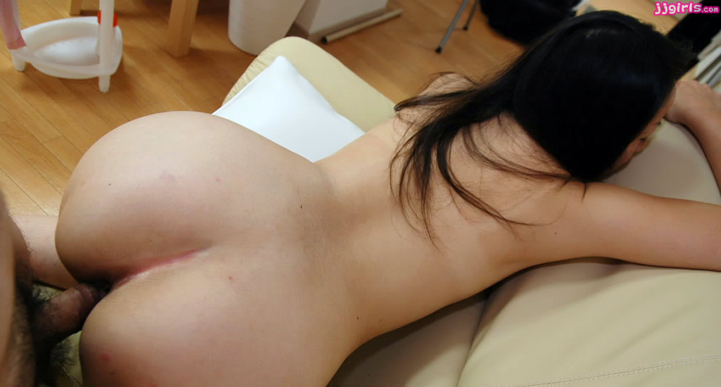 Japanese fucked from behind #11