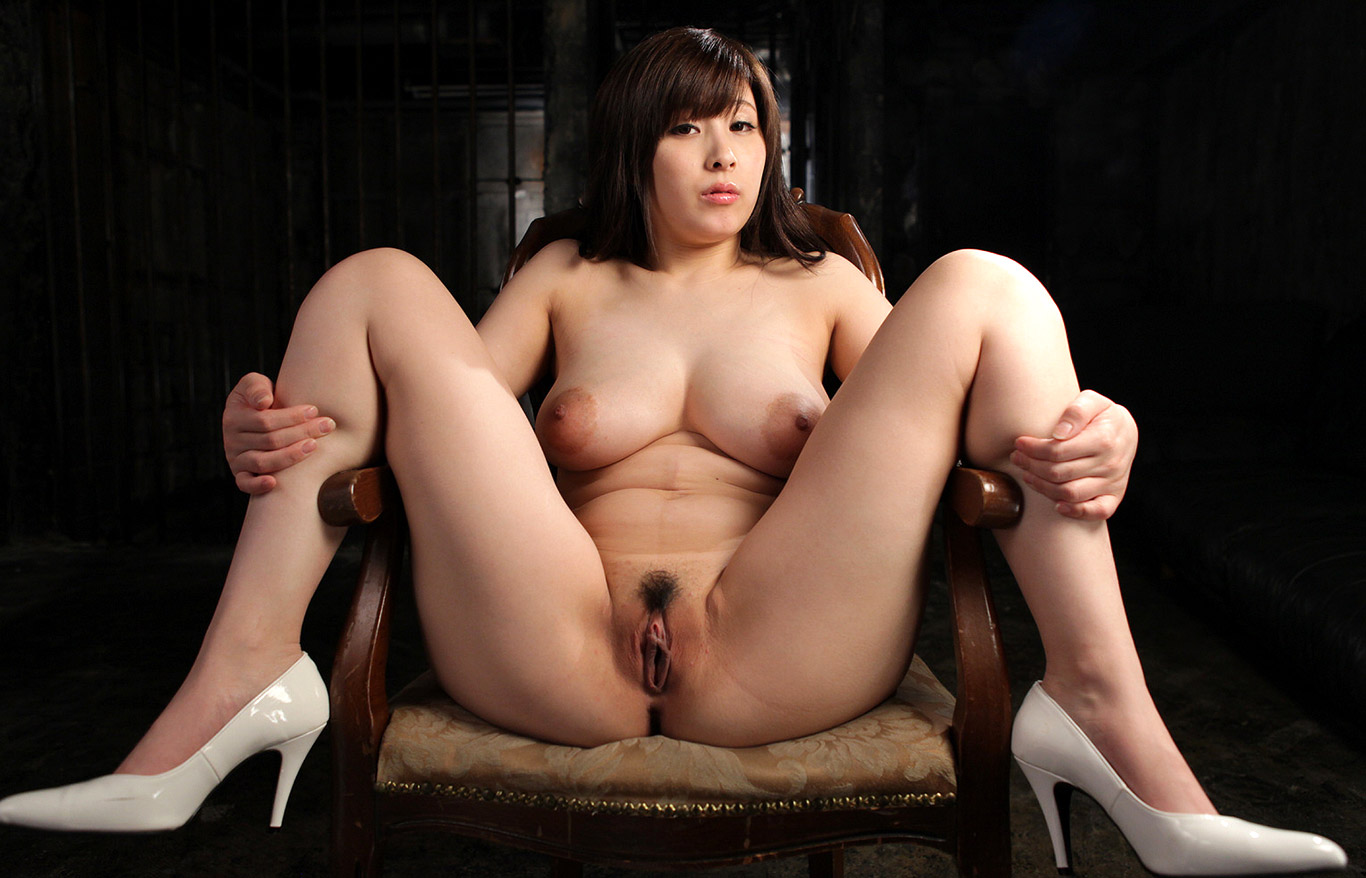 Japanese Shaved Spreading Legs